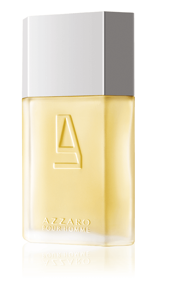 7aecfadf1ac The lightness of the bottle. By preserving the iconic shape of Azzaro Pour  Homme ...