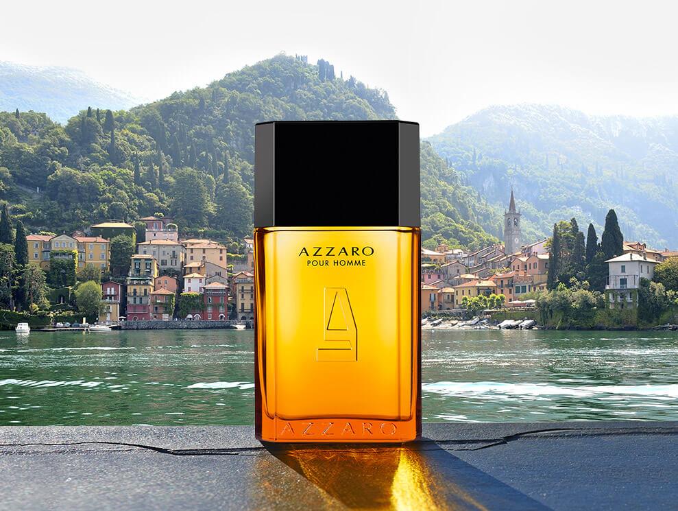 A charismatic bottle. Now refillable, the Azzaro Pour Homme ... 81c8654ec39